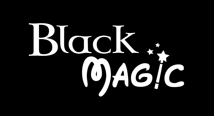 Pin Black Magic Logo On Pinterest